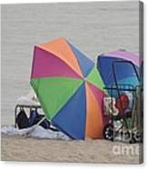 Beach It Canvas Print