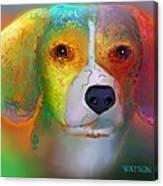 Beagle Canvas Print