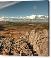 Beautiful Burren Landscape Canvas Print