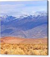 Beautiful Desert Canvas Print
