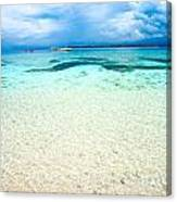 Beautiful Sea At Gili Meno - Indonesia Canvas Print