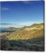 Belgodere In Corsica Canvas Print