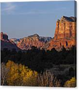 Bell Rock And Courthouse Butte Canvas Print