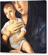 Bellini's Madonna And Child Canvas Print
