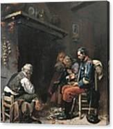 Benlliure Gil, Joan Antoni 1859-1930 Canvas Print