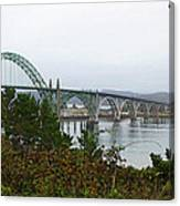 Big River Bridge Oregon Coast Canvas Print