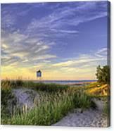 Big Sable Sunset Canvas Print