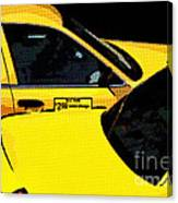 Big Yellow Taxis Canvas Print