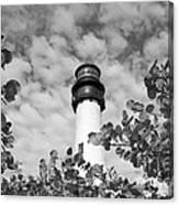 Bill Baggs Lighthouse Canvas Print