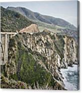 Bixby Bridge Vista Canvas Print