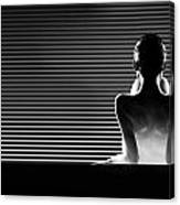 Black And White Artistic Nude Canvas Print