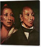 Black Hawk (1767-1838) Canvas Print