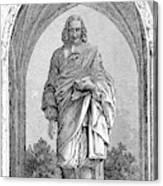 Blaise Pascal  French Philosopher Canvas Print