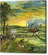 Bleeding Kansas - A Life And Nation Changing Event Canvas Print
