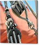 Block And Tackle Canvas Print