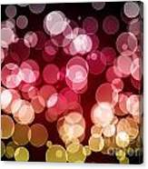 Bokeh Background Canvas Print