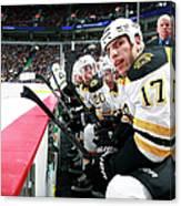 Boston Bruins V Vancouver Canucks Canvas Print