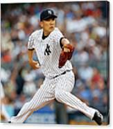 Boston Red Sox V New York Yankees 2 Canvas Print