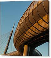 Bridges In The Sky Canvas Print