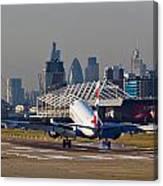 British Airways London Canvas Print