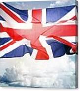 British Flag 3 Canvas Print