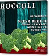 Broccoli Farm Canvas Print