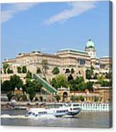 Buda Castle In Budapest Canvas Print