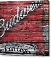 Budweiser Canvas Print