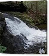 Buffam Falls Lower Cascade Canvas Print