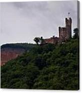 Burg Sooneck Am Rhine Canvas Print
