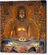 Byodo In - Amida Buddha Canvas Print