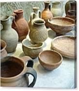 Byzantine Pottery Canvas Print