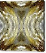 Cafe Au Lait Kaleidoscope Canvas Print