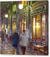 Caffe Florian Arcade Canvas Print