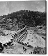 California Railroad Canvas Print