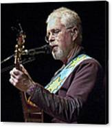 Canadian Folk Rocker Bruce Cockburn Canvas Print