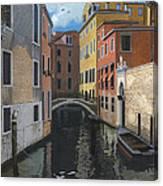 Canal Rhapsody Canvas Print