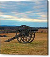 Cannons Of Manassas Battlefield Canvas Print