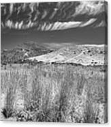 Capricious Clouds In The Volcanic Planet Canvas Print