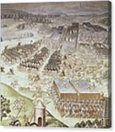 Castello, Fabrizio 1562-1617. Battle Canvas Print