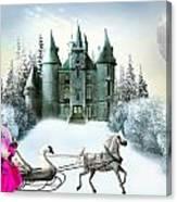 Castles Fantasy Canvas Print