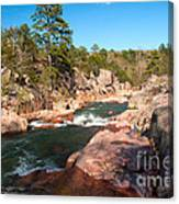Castor River Shut Ins Canvas Print