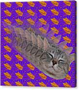 Cat Trip Pop 002 Limited Canvas Print