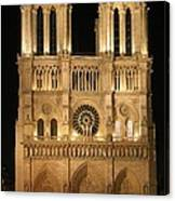 Cathedral Of Notre Dam Canvas Print