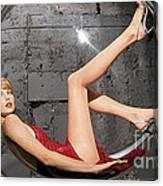 Charlize Theron Canvas Print