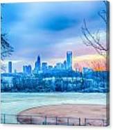 Charlotte Downtown   Canvas Print