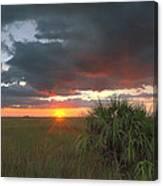 Chekili Sunset Canvas Print