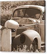 Chevrolet Rust Bucket Canvas Print