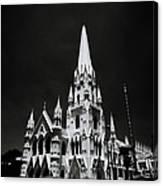 Black And White Basilica Canvas Print