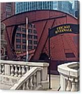 Chicago Riverwalk Canvas Print
